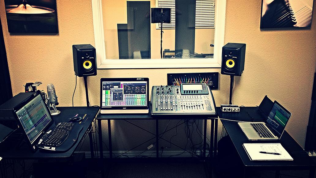 Professional Music Studio Equipment
